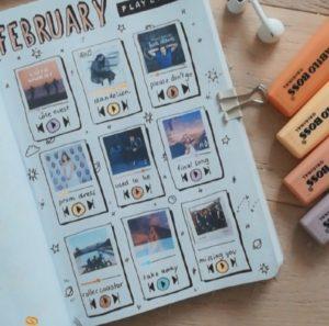 Лёгкие идеи для личного дневника.