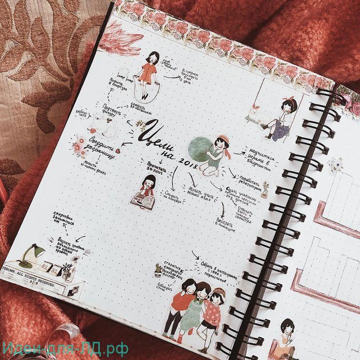 Личный дневник идеи - цели и планы