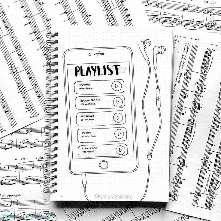 Легкие идеи для ЛД - плейлист, музыка черно белый стиль