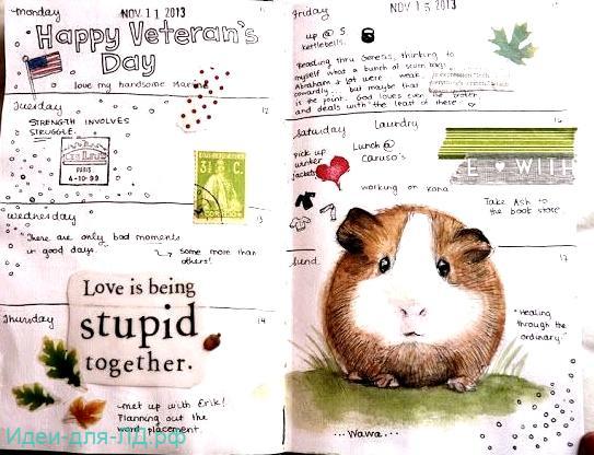 Личный дневник - Домашние животные хомячок