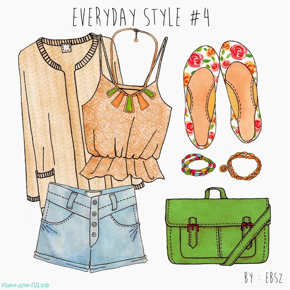 Личный дневник-весенний гардероб