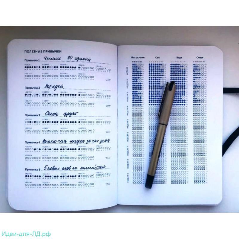 личный дневник - трекер полезных привычек