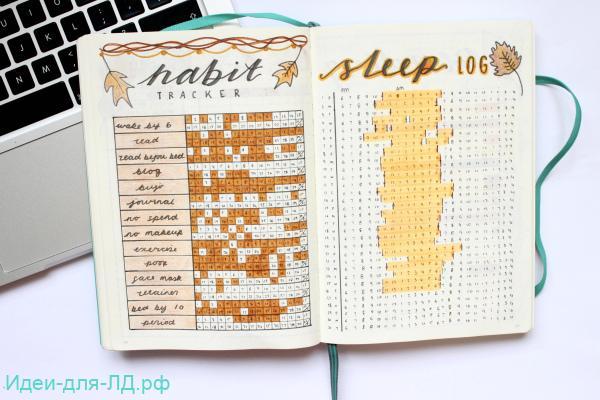 личный дневник - трекер привычек