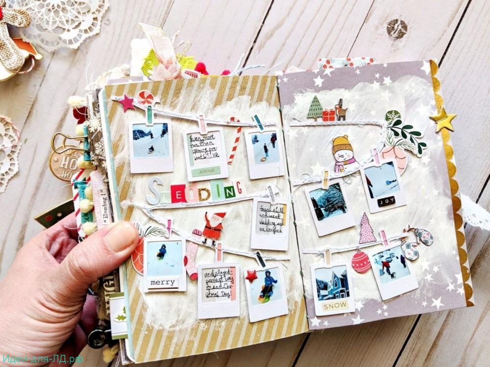 Идеи для Личного дневника Зима - подготовка к новому году.